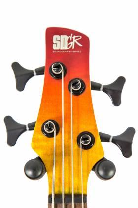 Ibanez SR870-ALG Soundgear Series 4-String RH Electric Bass-Autumn Leaf Gradation Product Image 8