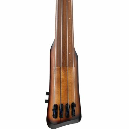 Ibanez UB804-MOB Workshop Series Upright Electric Double Bass-Mahogany Oil Burst Product Image 5