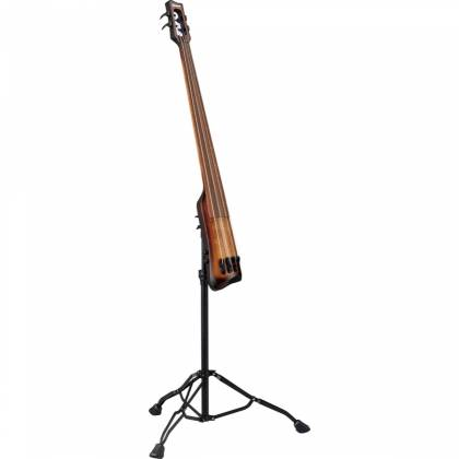 Ibanez UB804-MOB Workshop Series Upright Electric Double Bass-Mahogany Oil Burst Product Image 9