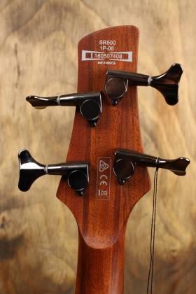 Ibanez SR500E-BM 4 String RH Bass Guitar - Brown Mahogany Product Image 4