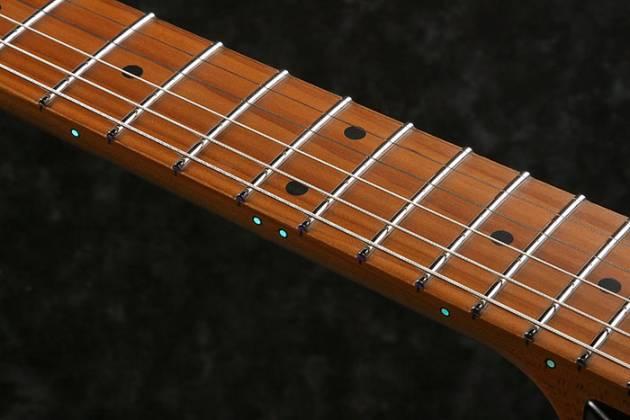 Ibanez RGR5220M-TFG Prestige 6 String Electric Guitar - Transparent Fluorescent Green Product Image 7