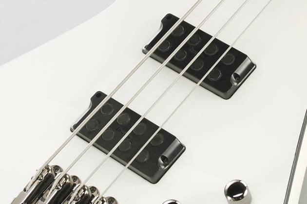 Ibanez SDB3PW Sharlee D'Angelo Signature Series 4 String Electric Bass - Pearl White Product Image 10
