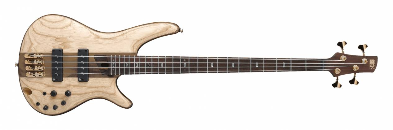 Ibanez SR1300-NTF SR Premium 4 String RH Bass w gigbag - Natural Flat Product Image 3