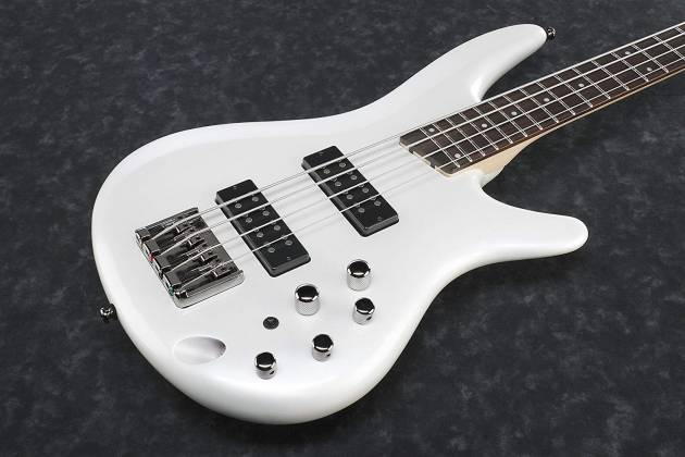 Ibanez SR300E-PW SR Standard Series 4 String Electric Bass – Pearl White Product Image 4
