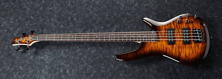 Ibanez SR400EQMDEB SR Standard 4 String RH Electric Bass - Dragon Eye Burst Product Image 5