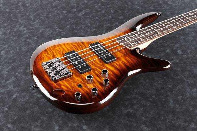 Ibanez SR400EQMDEB SR Standard 4 String RH Electric Bass - Dragon Eye Burst Product Image 8