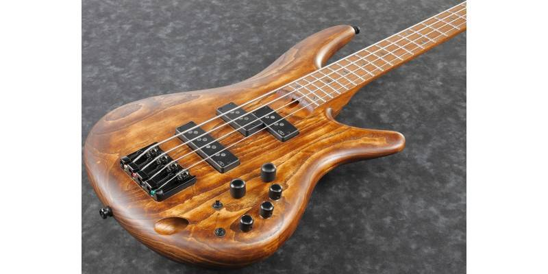 Ibanez SR650E-ABS 4 String RH Bass Guitar - Antique Brown Stain Product Image 6