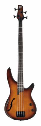 Ibanez SRH500DEF SR Series Bass Workshop - Semi-Hollow Body 4 Sting RH Electric Bass Guitar - Dragon Eye Burst Flat Product Image 2