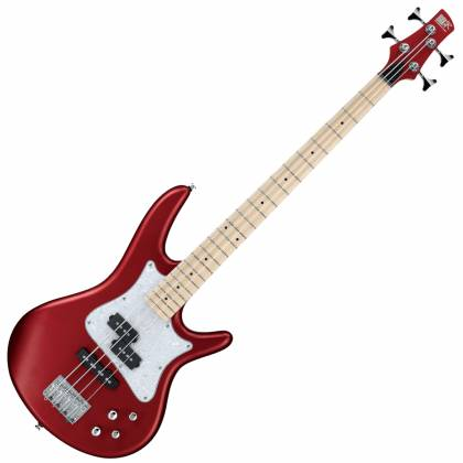 Ibanez SRMD200-CAM Mezzo 4 String RH Bass Guitar - Candy Apple Matte Product Image 4