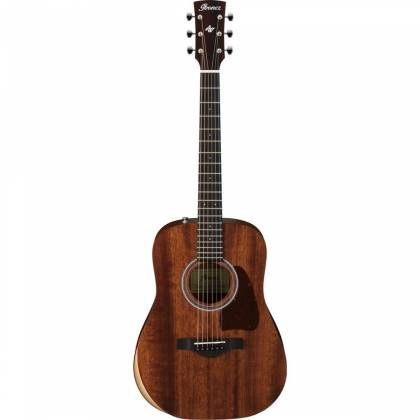 Ibanez AW54JR-OPN Artwood Series Acoustic 6 String Guitar - Open Pore Natural  Product Image 2