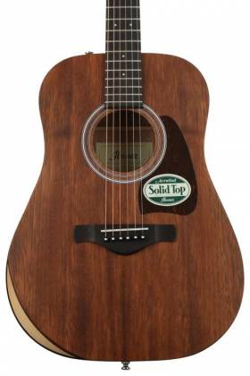 Ibanez AW54JR-OPN Artwood Series Acoustic 6 String Guitar - Open Pore Natural  Product Image 4