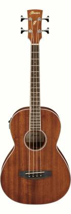 Ibanez PNB14E-OPN 4 String RH Acoustic Electric Bass - Open Pore Natural Product Image 3