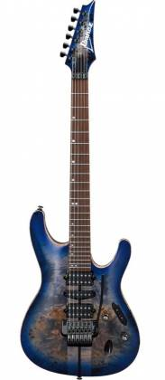 Ibanez S1070PBZ-CLB S Premium Series 6 String Electric Guitar - Cerulean Blue Burst Product Image 4