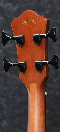 Ibanez AEWB20NT-d Natural High Gloss 4 String RH Acoustic Bass (Discontinued Clearance)  (Prior Year Model) Product Image 3