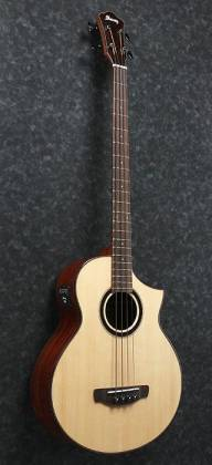 Ibanez AEWB20NT-d Natural High Gloss 4 String RH Acoustic Bass (Discontinued Clearance)  (Prior Year Model) Product Image 4