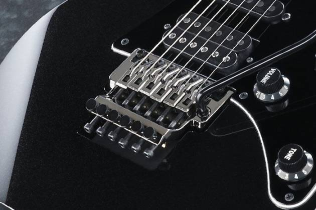 Ibanez RGR652AHB-WK RG Series Prestige Series 6 String RH Electric Guitar in Weathered Black (discontinued clearance) Product Image 4