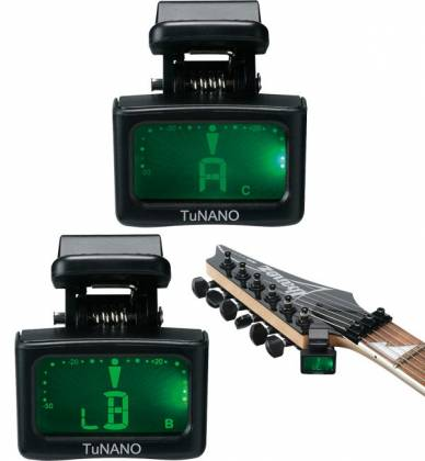 Ibanez Tunano Clip On Chromatic Tuner for Guitar, Bass, and Ukulele Product Image 2