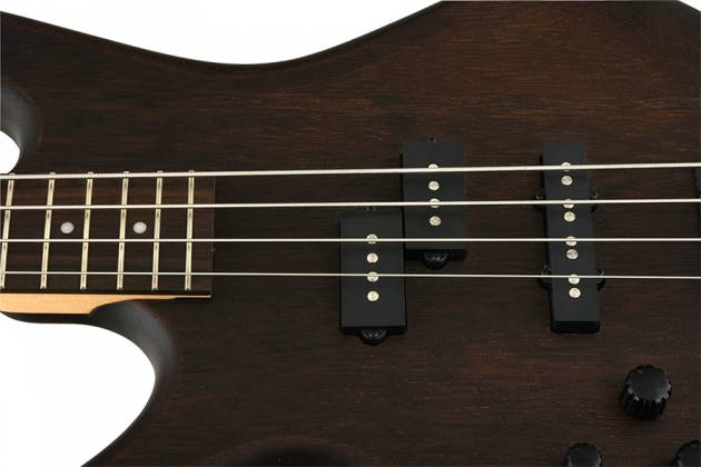 Ibanez GSR200BLWNF-d Left-Handed Bass Guitar, 4 String Walnut Flat Details (discontinued clearance)  (Prior Year Model) Product Image 5