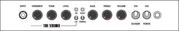 Ibanez TSA15-N-d Tubescreamer 15-Watt all Tube Guitar Combo Amplifier (discontinued clearance) Product Image 4