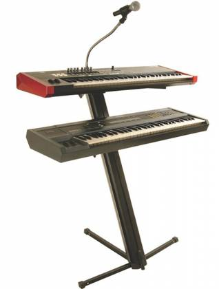 On Stage Stands KS9102 Quantum Core Column Keyboard Stand Product Image 5