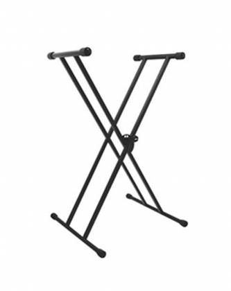 On Stage Stands KS7191 Classic Double-X Keyboard Stand Product Image 2