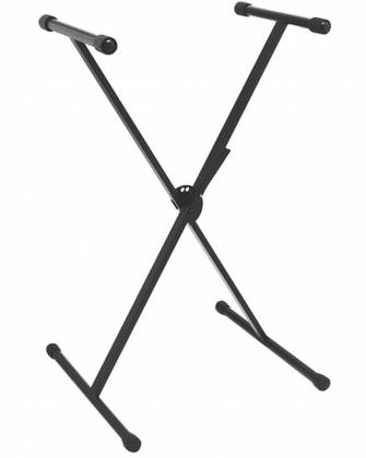 On Stage Stands KS7390 QuikSQUEEZE Single-X Keyboard Stand Product Image 2