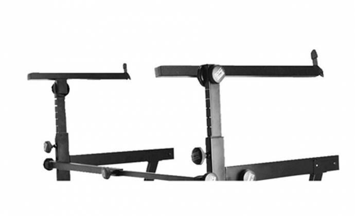 On Stage Stands KS7365-EJ Pro Heavy-Duty Folding-Z Keyboard w/ 2nd Tier Product Image 7