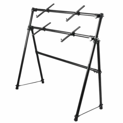 On Stage Stands KS7902 2-Tier A-Frame Keyboard Stand Product Image 2
