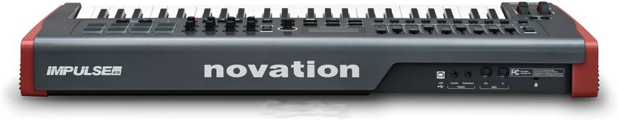Novation Impulse49 USB 49-key Midi Controller impulse-49 Product Image 4