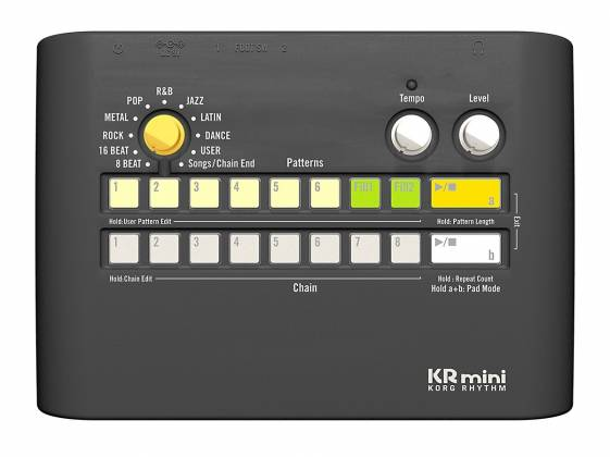 Rhythms Of Nature Without Booms >> Korg Dj Kr Mini Rhythm Machine Electronic Drums And Percussion