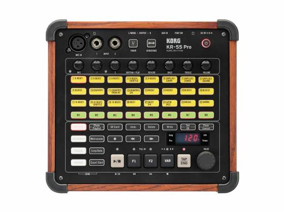 Korg DJ KR55-Pro  Drum Machine with mixing and recording Product Image 2