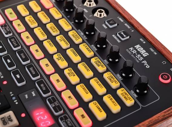 Korg DJ KR55-Pro  Drum Machine with mixing and recording Product Image 11