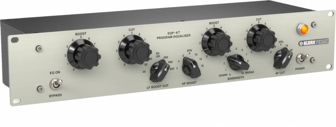 Klark Teknik EQP-KT Classic Tube Equalizer with Switchable Frequency  Selection