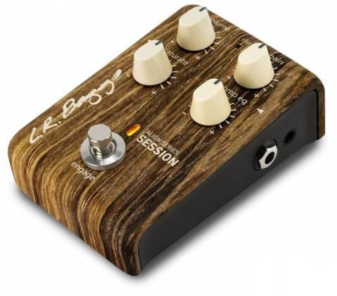 L. R. Baggs LR-ALIGN-SESS Acoustic Saturation/Compressor/EQ Guitar Effects Pedal Product Image 2