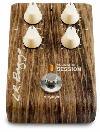 L. R. Baggs LR-ALIGN-SESS Acoustic Saturation/Compressor/EQ Guitar Effects Pedal Product Image 3