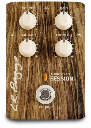 L. R. Baggs LR-ALIGN-SESS Acoustic Saturation/Compressor/EQ Guitar Effects Pedal Product Image 5