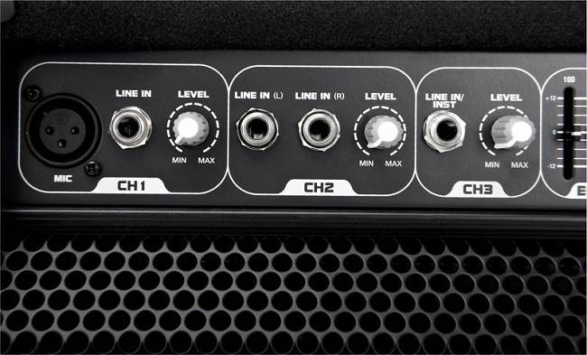 Laney AH40 3 Channel 40 Watts Multi Instrument Amplifier Product Image 5