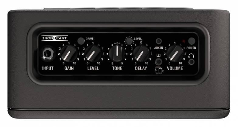 Laney MINI-ST-IRON Ironheart Battery Powered Stereo Guitar Amplifier Combo with tonebridge LSI Product Image 5