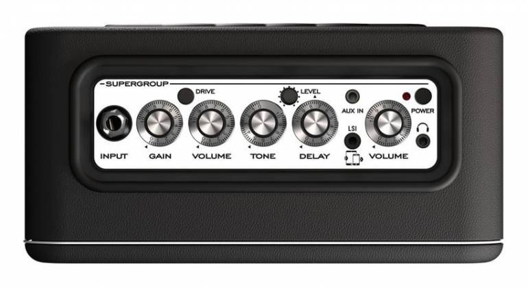 Laney MINI-ST-SUPERG Supergroup Battery Powered Stereo Guitar Amplifier Combo with tonebridge LSI Product Image 3