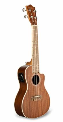Lanikai MA-CEC Electric Acoustic Cutaway Concert Ukulele in Mahogany Product Image 2