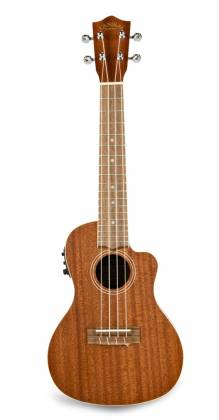Lanikai MA-CEC Electric Acoustic Cutaway Concert Ukulele in Mahogany Product Image 4