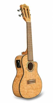 Lanikai QM-NACEC Quilted Maple Electric Concert Ukulele-Natural Stain Product Image 2