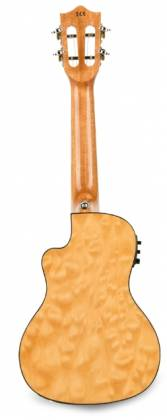 Lanikai QM-NACEC Quilted Maple Electric Concert Ukulele-Natural Stain Product Image 3