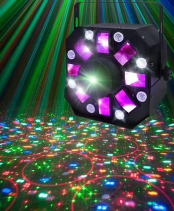 LC Group MIXLASER II V2 Led Strobe Laser Product Image 2