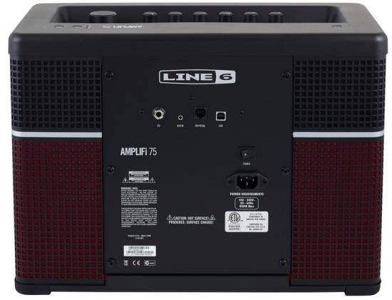 Line 6 AMPLIFI75 Bluetooth Enabled 75-watt Multi-Speaker Modeling Combo Guitar Amplifier Product Image 7