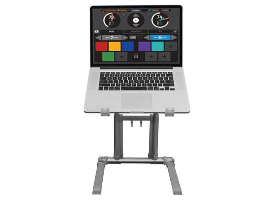Odyssey LSTAND360MACSIL Mac Silver LSTAND 360 Ultra Laptop/Tablet Folding Quick Setup Stand Product Image 3