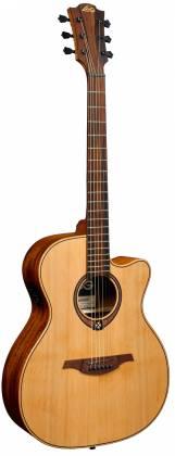 Lag T170ACE Auditorium 6 String RH Acoustic-Electric Guitar - Natural Product Image 2