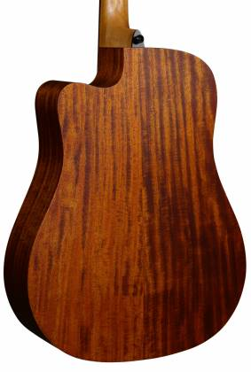 Lag T170 DCE Tramontane Cutaway Dreadnought 6 String RH Acoustic Guitar with Pickup t-170-dce Product Image 5