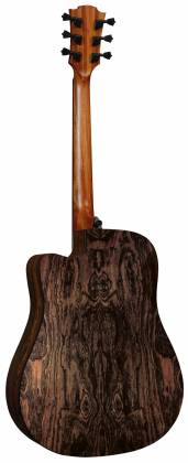 Lag THV30DCE Tramontane HyVibe BearClaw Spruce 6 String RH Acoustic-Electric Smart Guitar w/ Bluetooth with hardshell case thv-30-d-ce Product Image 4