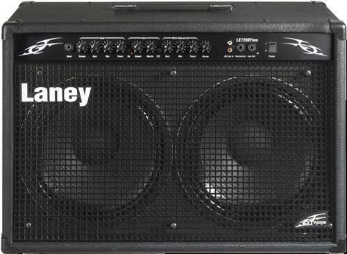 Laney LX120RT 120W 2x12 Guitar Combo Amp Black Product Image 3